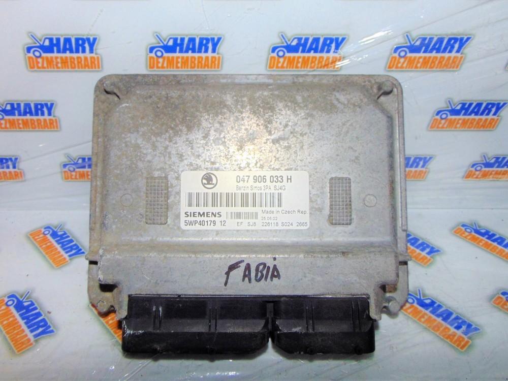 Calculator motor cu codul 047906033H pentru Skoda Fabia , 1.4MPI