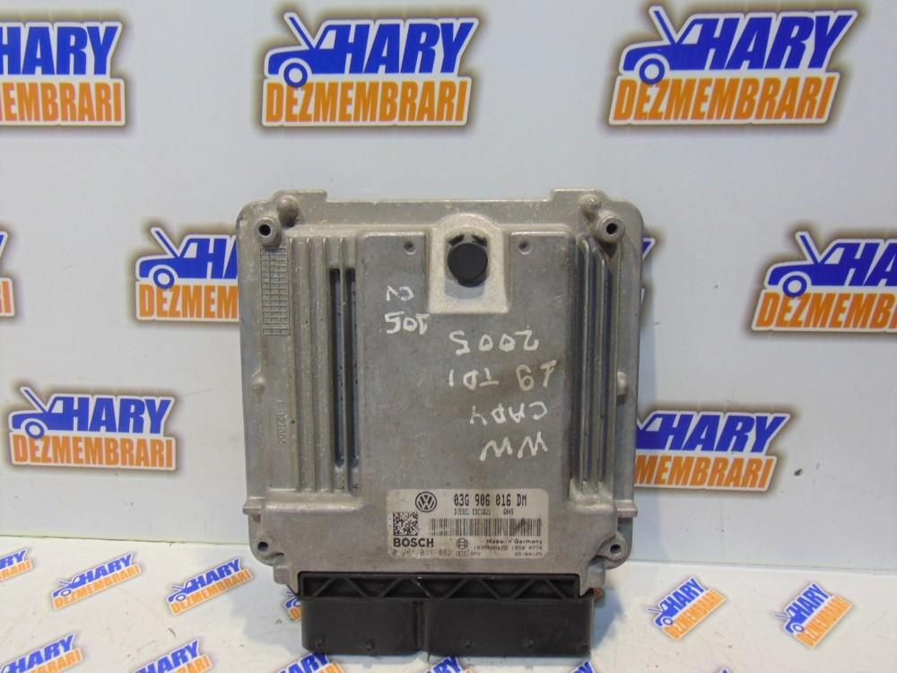 Calculator motor cu codul 03G906016DM pentru VW Caddy, 1.9TDI