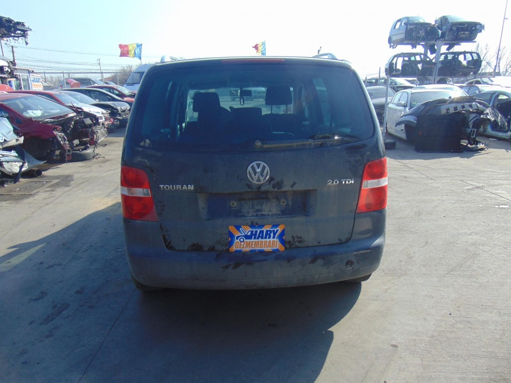Dezmembram VW Touran, 2.0TDI, Tip Motor BKD, An fabricatie 2005.