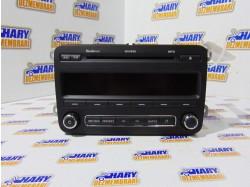 Radio CD avand codul original 5J0035161D, pentru Skoda Roomster