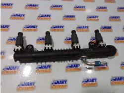 Rampa injectoare avand codul original 0280151076, pentru Opel Corsa C