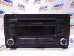 Radio CD cu codul 8P0035186P pentru Audi A3