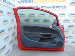 Macara geam stanga pentru Opel Corsa D