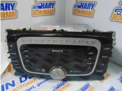Radio CD+MP3 cu codul VP6M2F-18C821-FB pentru Ford Mondeo MK4