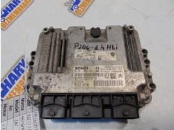 Calculator motor cu codul 9661728580 / 0281012525 pentru Peugeot 206, 1.4HDI
