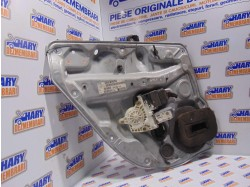 MACARA ELECTRICA STANGA SPATE + MOTORAS - cod: 1J4839755A - VW GOLF 4