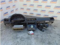 Kit complet airbag-uri pentru Skoda Octavia I,avand codul original 52 A15.5,contine; plansa bord fara grile,centuri fata stanga dreapta,  airbag-uri pasager + volan si calculator airbag