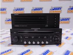 Radio CD cu MP3 + magazie CD cu codul 9662925977 + 7607769062 pentru Peugeot 307